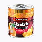 TRADER JOE'S Mandarin-Orangen - апельсин - мандарин консервированный целыми сегментами, очищенный; слегка с сахаром;  314мл. (Германия)