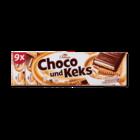 Шоколадные батончики Chateau Schoko & Keks Cappuccino, 300 гр. - 9 ригелей Германия