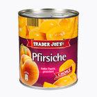 TRADER JOE'S Pfirsiche - персик консервированный 850мл. (Германия)