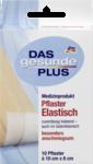 Das gesunde Plus Pflaster elastisch, 1 m - эластичный пластырь, 10 штук размером 10 см х 6 см. Без латекса.(Германия)