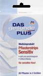 Das gesunde Plus Pflasterstrips Sensitiv, 20 St -  пластырь для чувствительной кожи 20 штук в 2 размерах. Без латекса.(Германия)