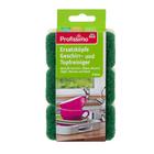 3 шт. запаски к многоразовой губка с ручкой для мытья кастрюль DM Profissimo Ersatzkopfe Geschirr und Topfreiniger Германия.