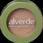 """alverde NATURKOSMETIK Puderrouge apricot 01, 4 g - натуральная косметика, румяна, цвет """"apricot 01""""  (Германия)"""