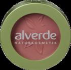 "alverde NATURKOSMETIK Puderrouge flamingo 07, 4 g - натуральная косметика, румяна, цвет ""flamingo 07""  (Германия)"
