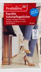 Profissimo Feuchttucher Schuhpflege, 15 St - Влажные салфетки для ухода за обувью, ухаживают за обувью и придают чистоту и блеск(Германия)