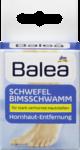 Balea Schwefel Bimsschwamm - Губка-пемза для ног от мозолей 1 шт.  (Германия)