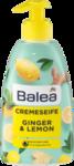 Balea Flussigseife Ginger & Lemon, 500 ml - Жидкое крем-мыло с ароматом инжир+лимона  500мл (Германия)