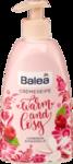 Balea  Flüssigseife Warm and Cosy, 500 ml - Жидкое крем-мыло с ароматом  Малина и Магнолия  500мл (Германия)