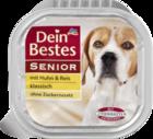 Dein Bestes Senior mit Huhn & Reis, klassisch, fur Hunde, 150 g - Курица и рис для взрослых и пожилых собак (Германия)