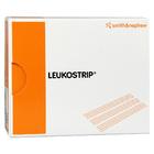 LEUKOSTRIP Wundnahtstreifen 6,4 x 76 mm - Полоски для закрытия ран из эластичной полиамидной сетки, стягивающие рану, 150 штук/упаковка (Германия)