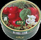Леденцы в жестяной коробке Sky Candy Kirschen Bonbons (вишня) 200 гр., (Германия)