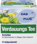 DAS gesunde PLUS Verdauungs Tee, 21 g -  Органический пищеварительный чай  (Германия) 8 пакетиков