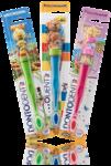 Dontodent Zahnburste Kids mit Spielfiguren -  детская зубная щётка для молочных зубов с игровой фигуркой 1-7 лет. (Германия)
