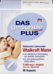 Биологически активная добавка для мужской силы, эрекции - Das gesunde Plus Vitalkraft Mann Kapseln, 90 капсул (Германия)