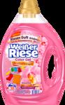 Оригинальный немецкий Weißer Riese Colorwaschmittel Gel Aromatherapie, 38 Wl - гель для стирки цветных вещей Ароматерапия (38 стирок) (Германия) 1.9 л