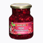 Trader Joes Wild-Preiselbeeren - лесные ягоды брусники, идеально подходят к разным продуктам 400гр. (Германия)