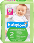 Babylove Windeln Premium extra weich Große 2, mini 3-6kg, 42 St - немецкие Премиум - экстра мягкие подгузники для детей 3-6кг. (Германия) 42 шт.