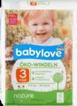 """Babylove nature Oko-Windeln """"№3 midi"""" 4-9kg, 36 St - натуральные немецкие Эко подгузники для детей 4-9кг. (Германия) 36 шт."""